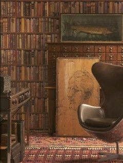 Andrew Martin - Library wallpaper
