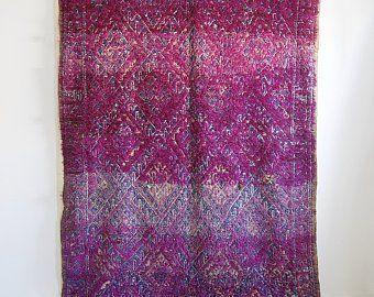 Purple Moroccan Rug Etsy