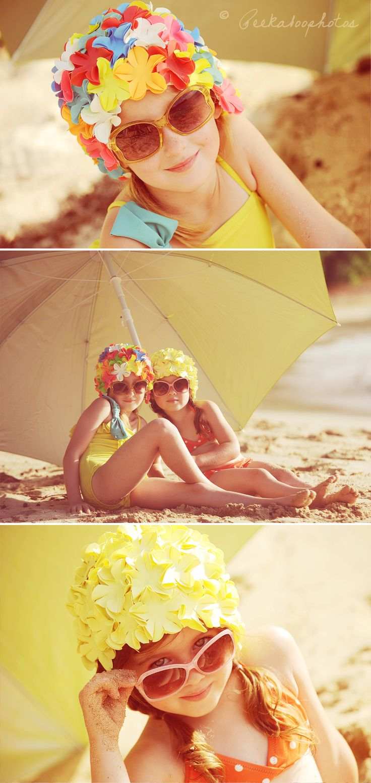 I love these from headcovers.com for a photo shoot on the beach! Gorgeous.