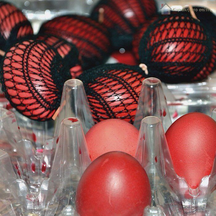 Have you read my new blog post? Red Easter Eggs! Find the link in the bio! #κυριακη_στο_σπιτι  #sundayathome #tradition #greekeaster #eastereggs #redeggs