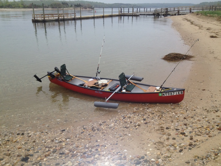 My Canoe Has Outriggers And Electric Motor Saltwater