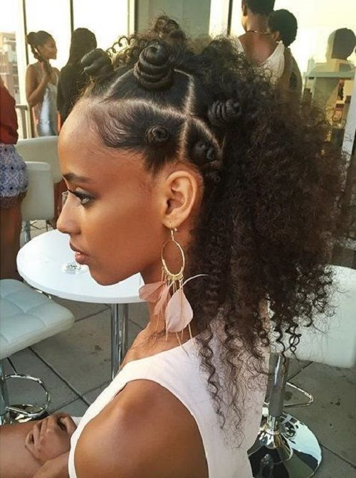 bantu knot protective natural hairstyle moisture friendly style