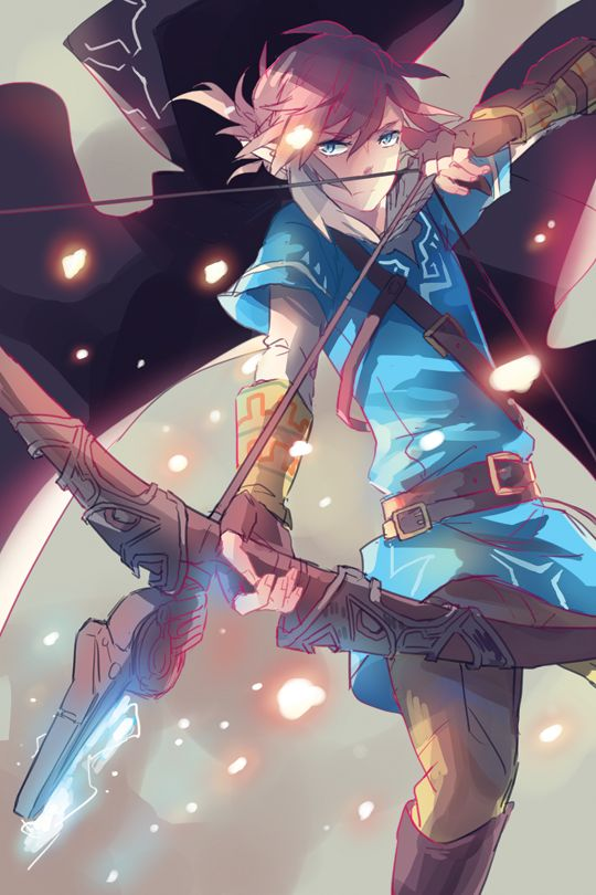 PONYTAIL LINK by onedayfour. via: http://onedayfour.deviantart.com/