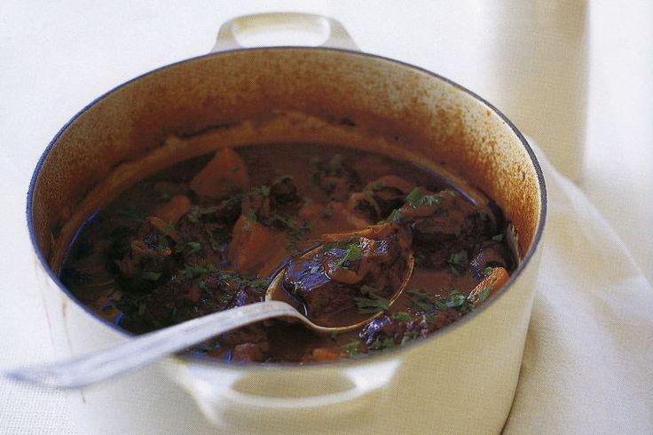 Brigitte Hafner's slow-cooked beef casserole