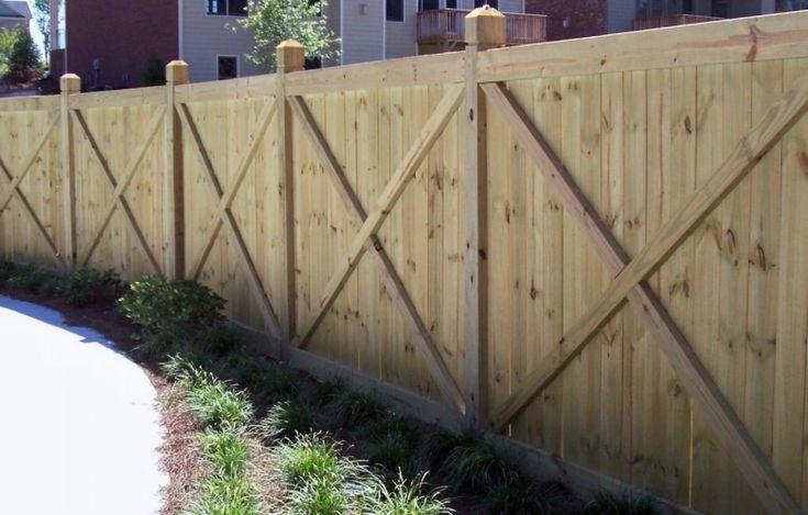 144 Best Wood Fence Designs Images On Pinterest