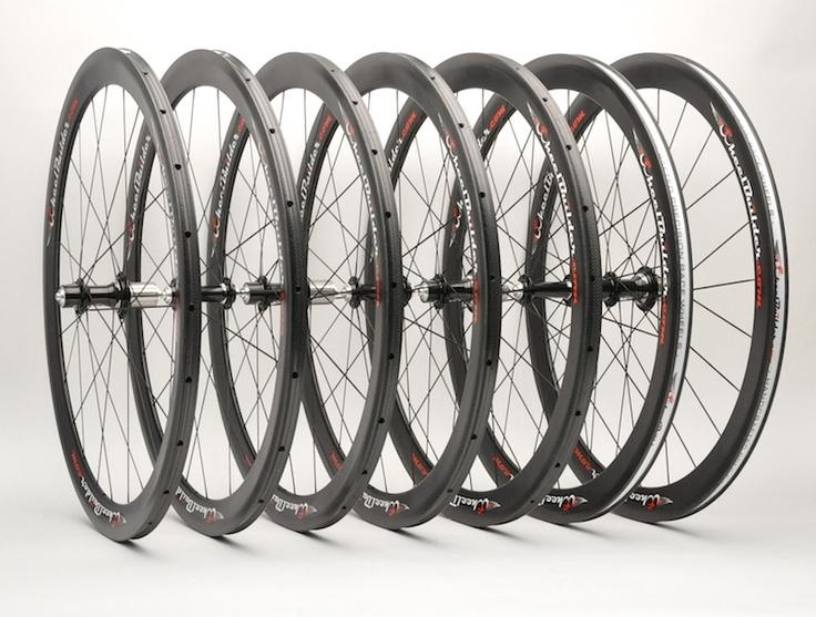Reynolds Assault wheels with White Industries T11 hubs, custom built for Team Time - Velo Pasadena.