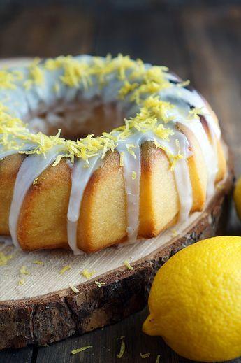 Самый мягкий лимонный кекс рецепт с фото, как приготовить.