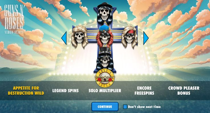 Video-slot from NetEntertainment  Guns n' Roses  Play free: http://www.gamesandcasino.com/slots/guns-n-roses.html  #play #free #slot