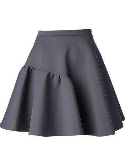 MSGM - pleated volume skirt