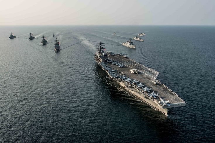While on patrol, CSG 5 was comprised of USS Ronald Reagan (CVN 76), Carrier Air Wing Five (CVW 5), the Ticonderoga-class guided-missile cruisers USS Chancellorsville (CG 62) and USS Shiloh (CG-67), Destroyer Squadron Fifteen (DESRON 15), the Arleigh Burke-class guided- missile destroyers USS Barry (DDG 54), USS Curtis Wilbur (DDG 54) and USS McCampbell (DDG 85). While USS McCampbell continues its patrol, the remainder of the strike group has returned to Yokosuka and Atsugi