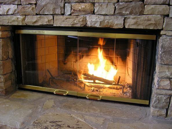 Heat-N-Glo Fireplace Doors | Fire place Glass Doors  http://www.brick-anew.com/fireplace-doors/heat-n-glo.html