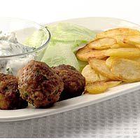Recept - Griekse gehaktballen met yoghurtsaus