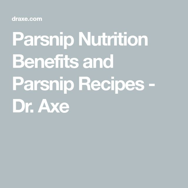Parsnip Nutrition Benefits and Parsnip Recipes - Dr. Axe