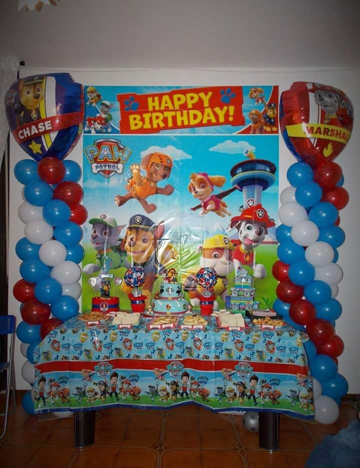 Festa compleanno   Paw Patrol | Bday party in 2019 | Pinterest