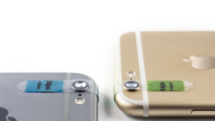 These stick-on lenses turn your smartphone into a digital microscope