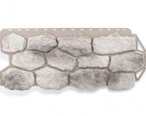 цокольный сайдинг для наружной отделки дома Скандинавский бутовый камень 470x1131 мм 0,52 м2