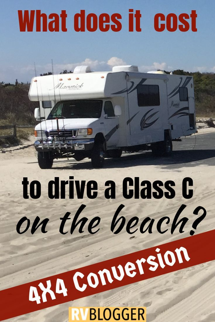 How Much Does a Class C RV 4x4 Conversion Cost | RV