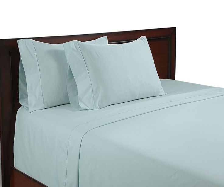 Arthur Hotel Collection 400 Tc Egyptian Cotton Sa 4 Pcs Bed Sheet Set With 21 Inch Deep Pocket In Solid King Blue