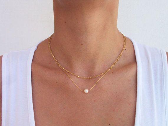 best 25 single pearl necklace ideas on pinterest