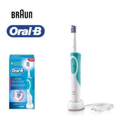 Braun Cepillo Dental Vitality Trizone ORAL B | Cepillo dental - Todo para el PC | Regálate lo mejor en tecnología