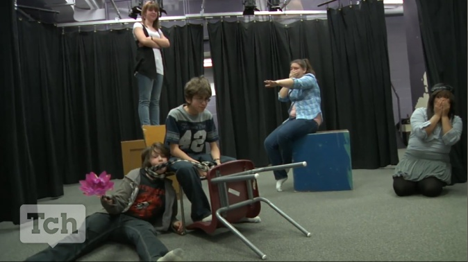 Use drama to teach literature.