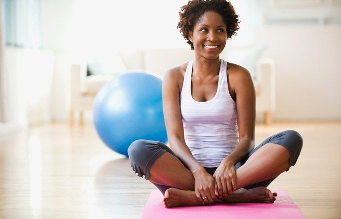 Joga - 10 pozycji do ćwiczenia w domu