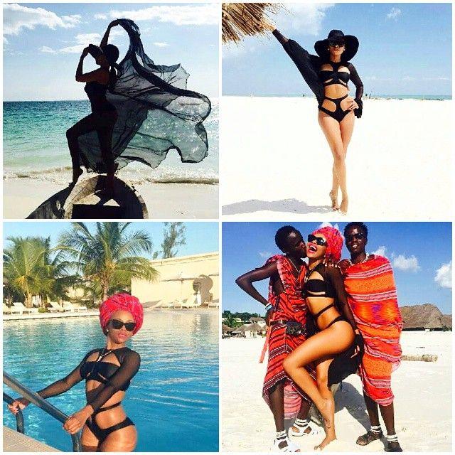 When #dollface @bonang_m strkes out on a #flawless #zanzibar #takeover...#ayeye!