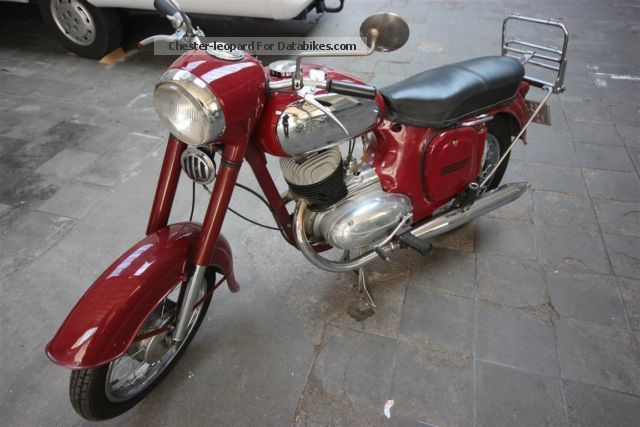 Jawa  353 1958 Vintage, Classic and Old Bikes photo