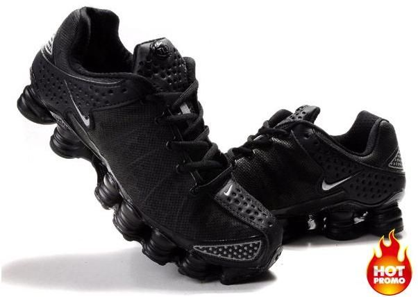 Mens Nike Shox TL3 Full Black1