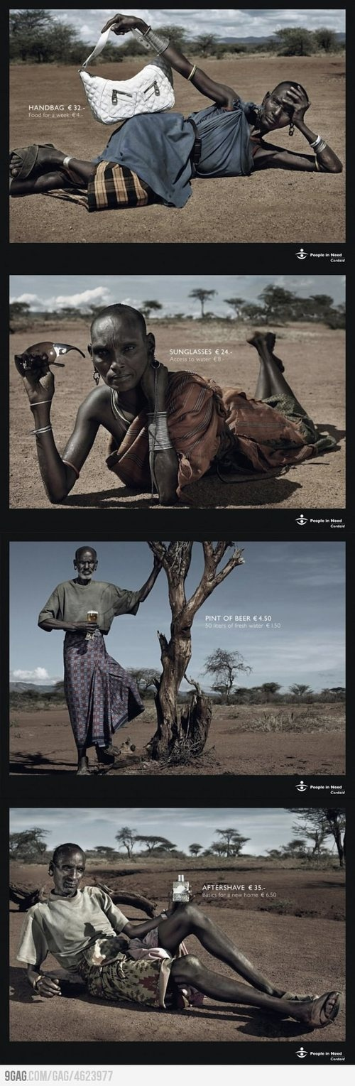 Ad campaign for organization, People In Need