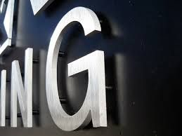 metal signage letters - Google Search