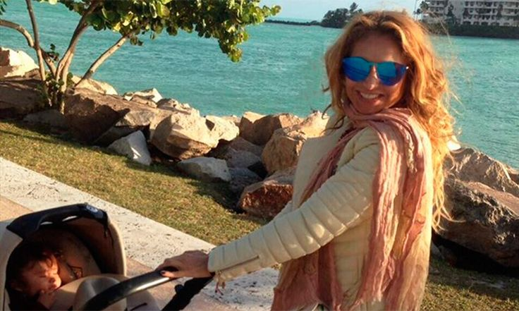 ¡Paseo matutino! Paulina Rubio y sus divertidas mañanas al lado de su hijo Eros
