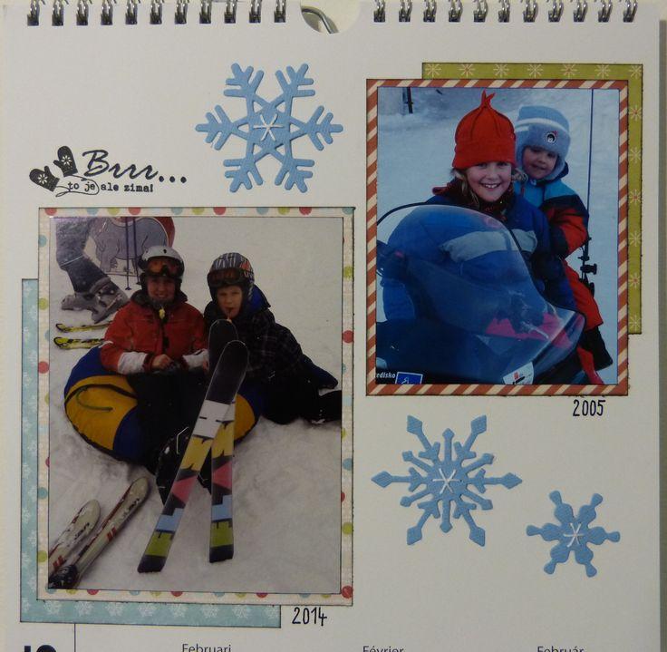 Kalendář - 7. podmínka - ŠITÍ (šití není můj koníček, tak aspoň vločky :-) )
