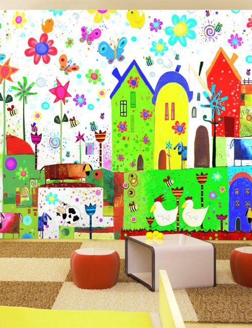 Oltre 25 fantastiche idee su bambino carta da parati su for Carta da parati bambini ikea