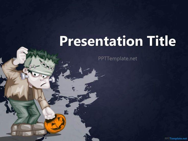 8 best thanksgiving backgrounds for powerpoint images on pinterest free halloween frankenstein ppt template toneelgroepblik Gallery