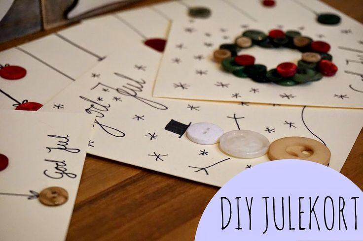 smågodt - en blogg med alt mellom himmel og jord: DIY julekort