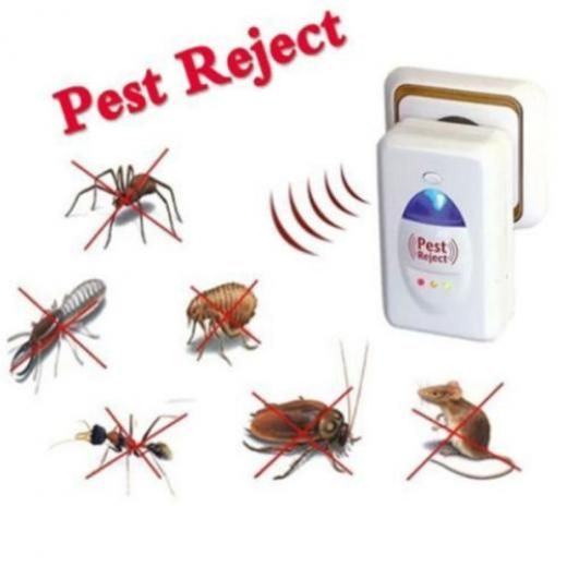 Pest Reject Mice Spider Insect Ultrasonic Control Repeller Indoor Home Repellent China