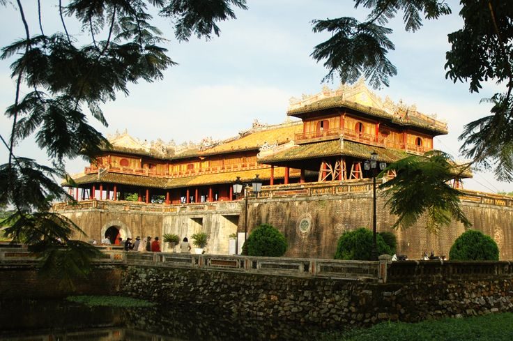 The Gate of Imperial city in Hue