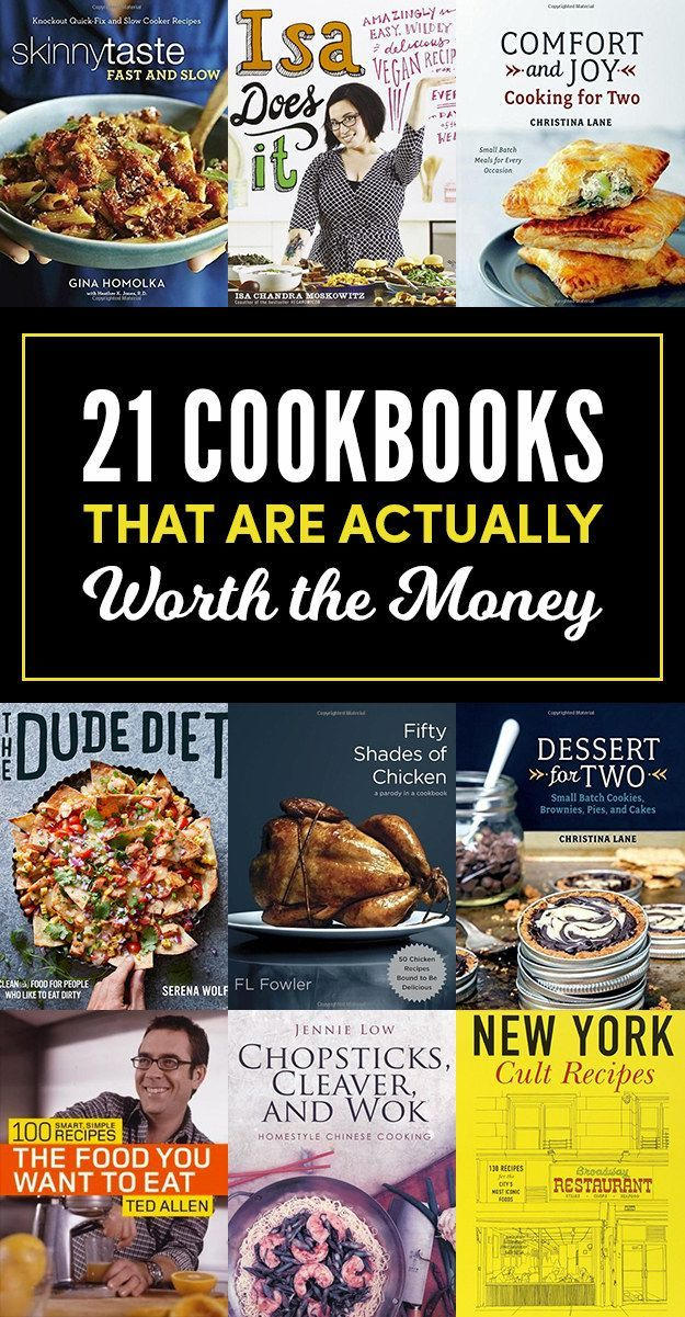 21 Cookbooks That Are Actually Worth Buying These cookbooks will give you a lot … – Designer.ca