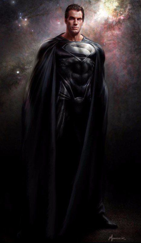 'Henry Cavill' could be wearing the 'Black Superman suit' in 'Justice League' (2017)
