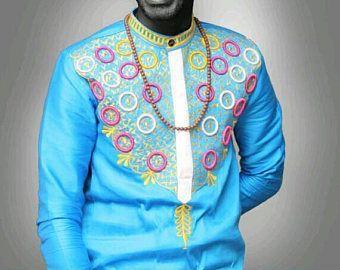 Ropa de hombre ropa, camisa de los hombres, africanos, mens camisa, bordado, desgaste