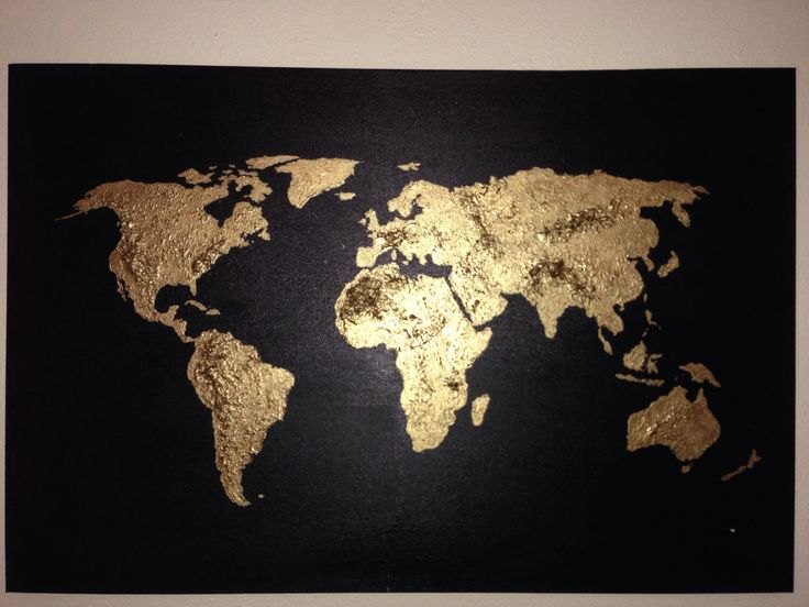 Best World Map Painting Ideas On Pinterest World Map - World map images