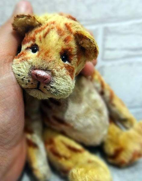 Baby Theo By Anna Rudenko - found on Bear Pile
