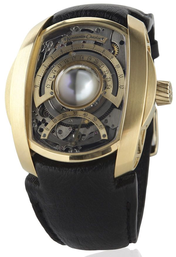 Konstantin Chaykin Lunokhod New Moon Watch