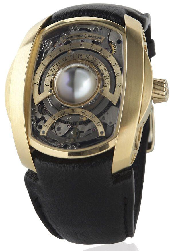 Konstantin Chaykin Lunokhod New Moon Watch