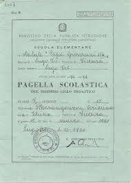 pagella scolastica