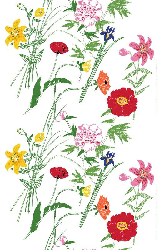 Puutarhakutsut, design Fujiwo Ishimoto for Marimekko