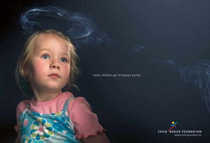 """""""Dzieci tych rodziców, któzy palą, szybciej trafiają do nieba"""""""