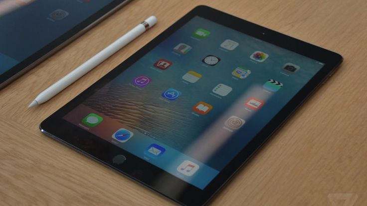 The new iPad Pro 9.7-inch is a very powerful iPad  We're just going to keep asking if this is a computer or not