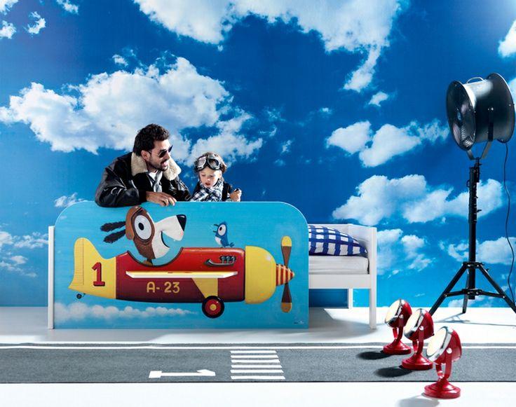BADROOM - letto per bambini con aereo